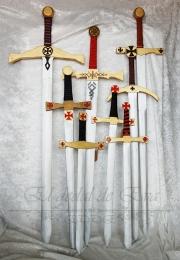 Espadas medievales de madera