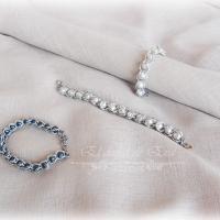 Pulsera medieval perlas <br> 10€