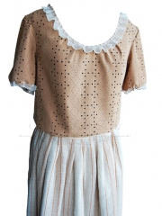 Blusa y Falda  <br> No disponible