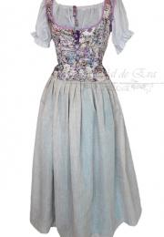 Conjunto blusa corpiño y falda no disponible<br>consultar nueva elaboración