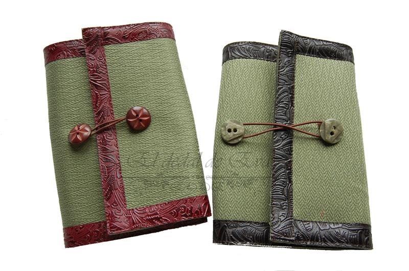 Fundas de libro (telas variadas).Modelo 15  y 16; 16€