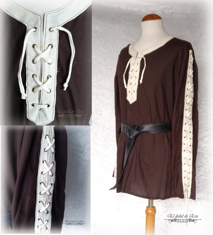 Camisa marrón<br>52 €