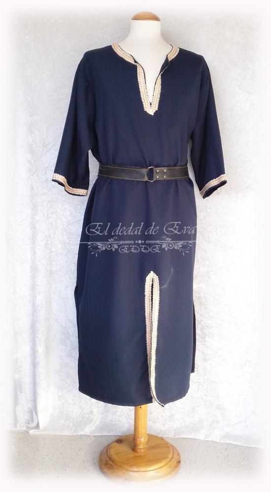 Vesta azul marino