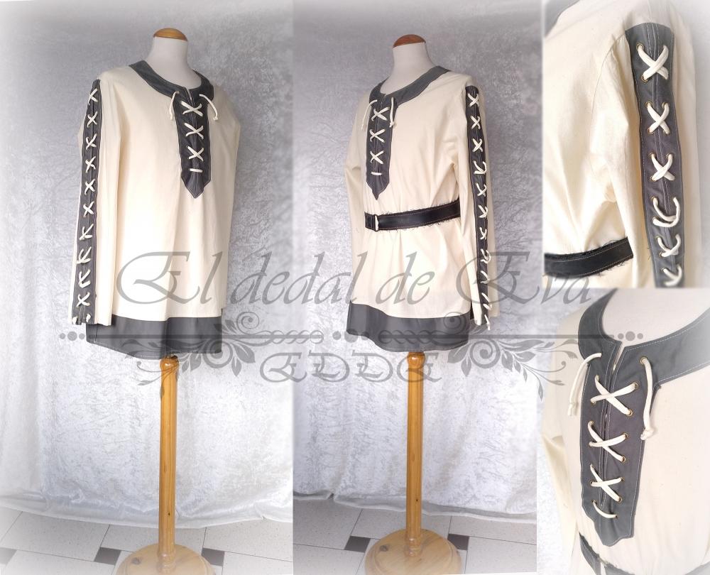 Camisa algodón natural<br>54€