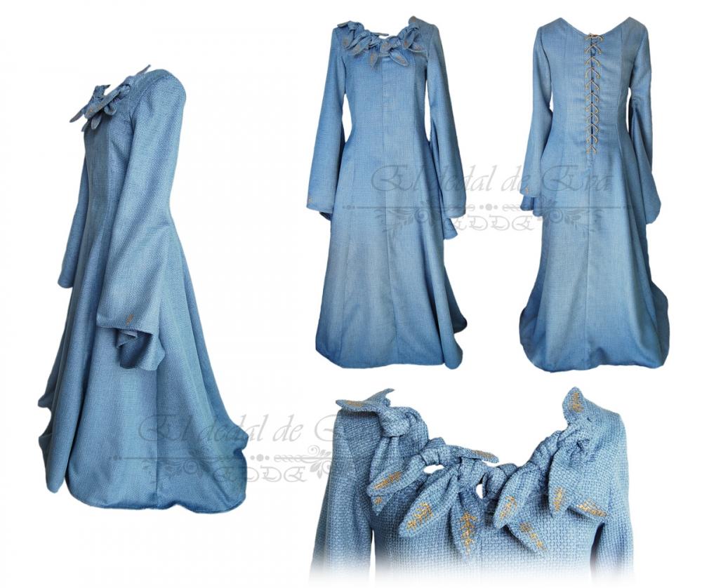Vestido Sansa Stark<br> no disponible.<br>consultar nueva elaboración