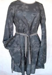 Vestido medieval Azul bordado corto <br> 36€